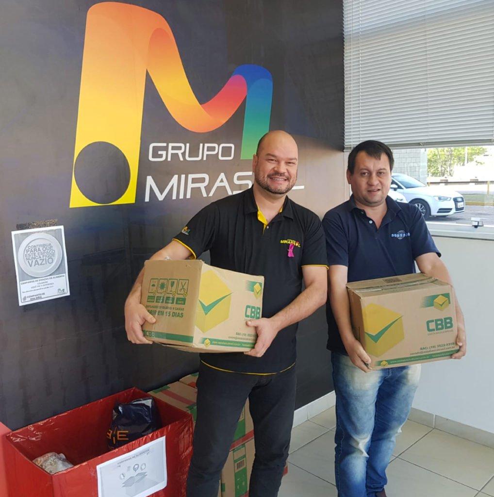 Ação Social Skymark Grupo Miraasso