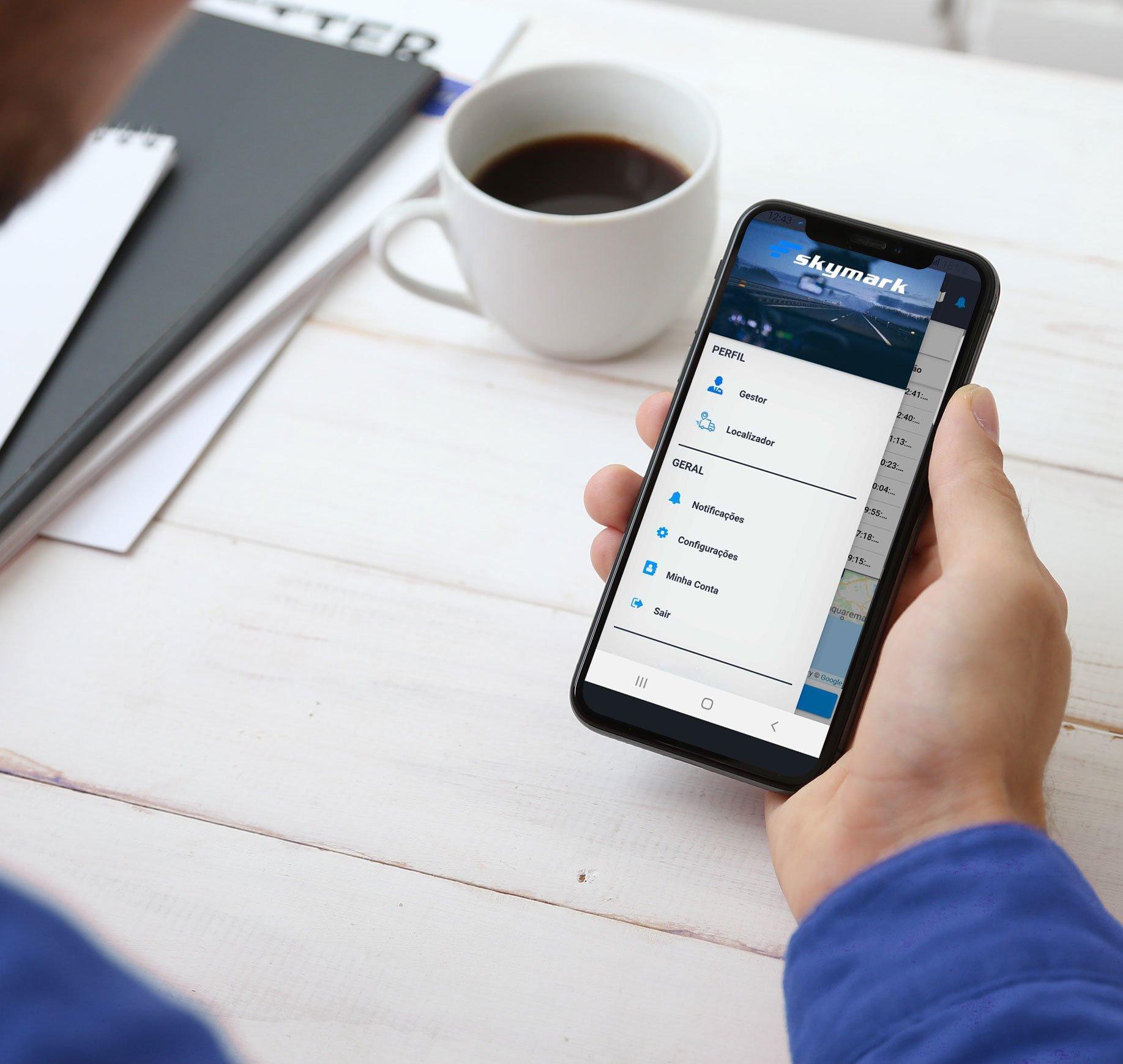App Jornada do Motorista Skymark