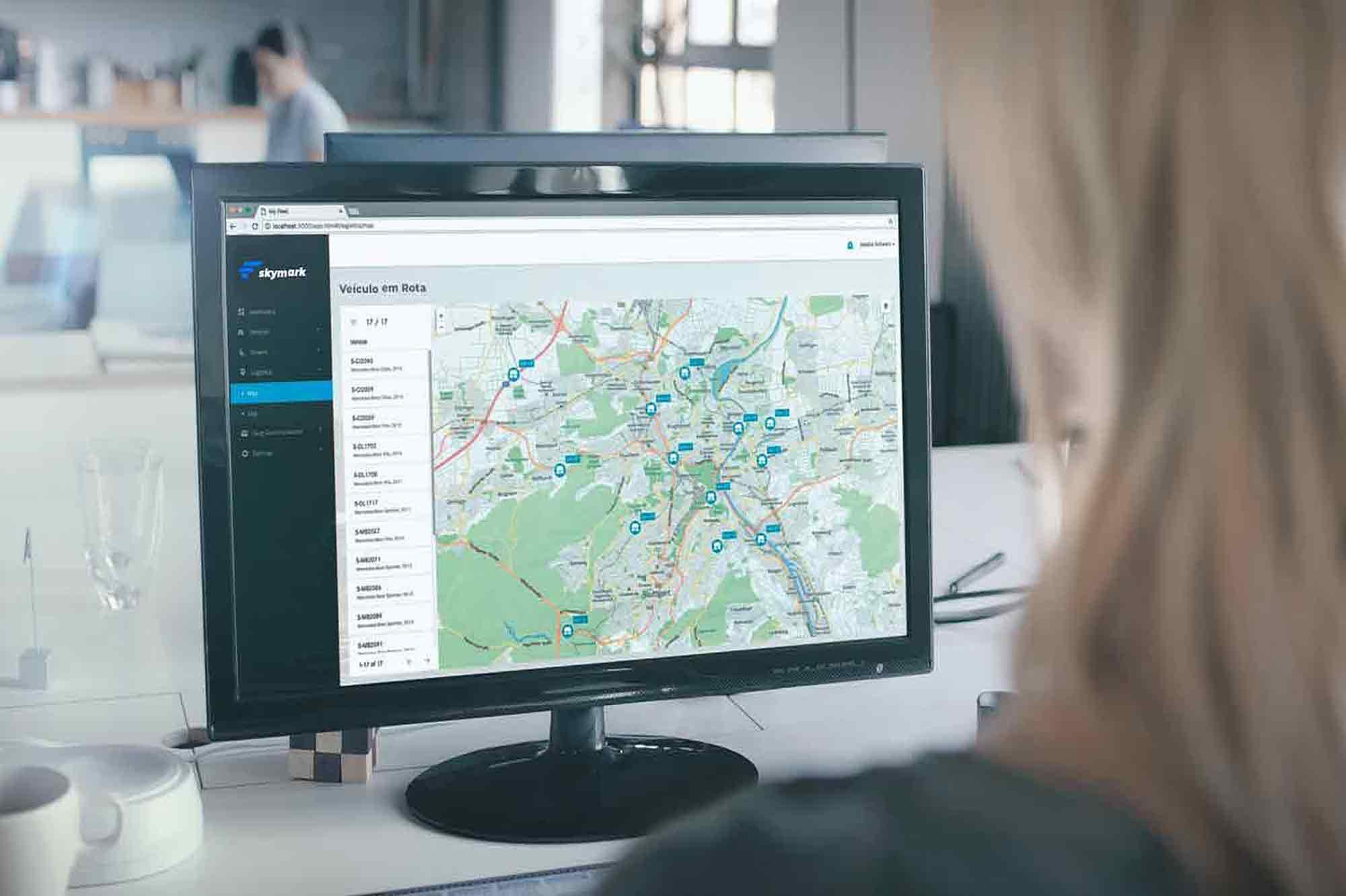 Tecnologias de rastreamento utilizadas para monitorar o transporte de carga