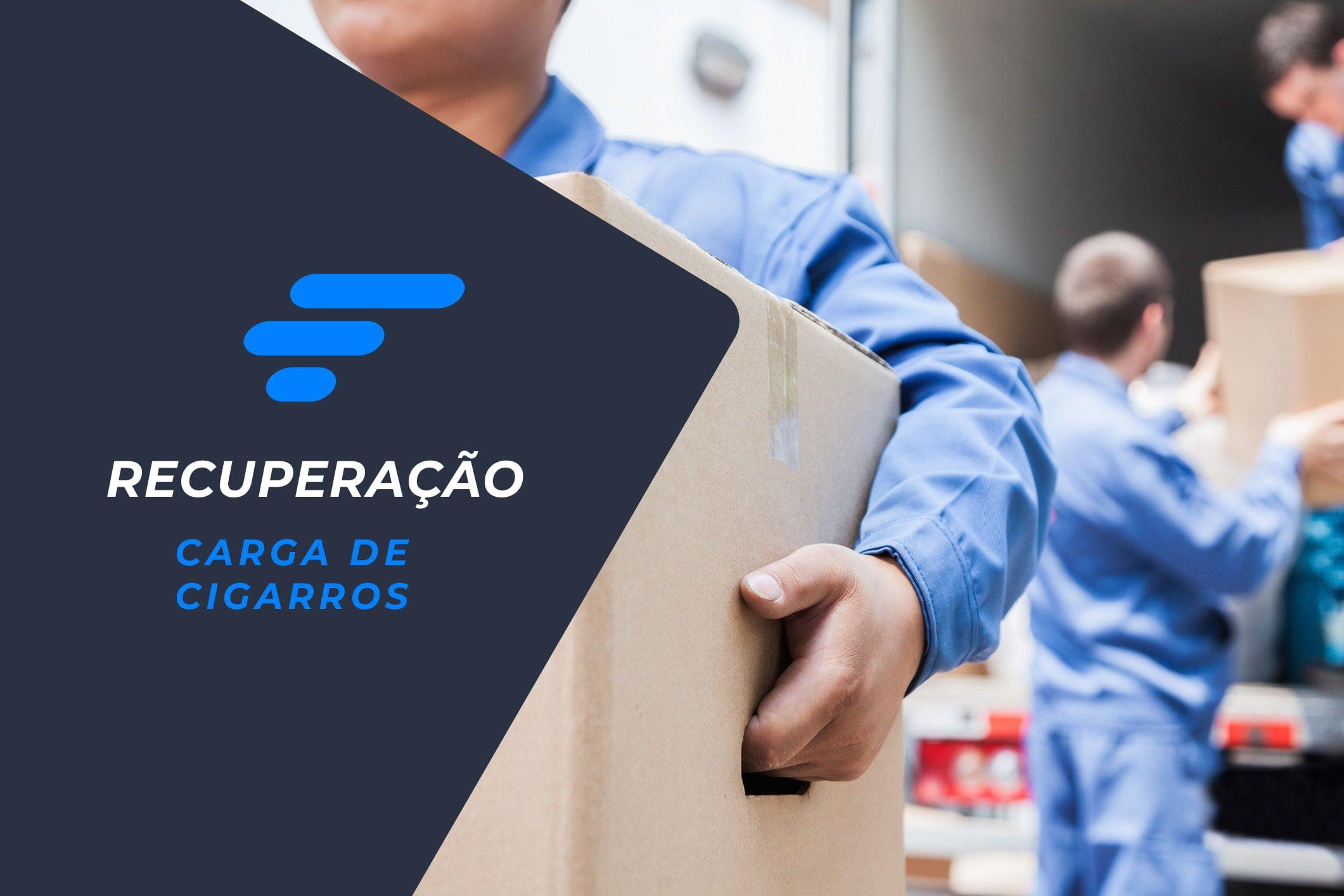 Operação da Skymark Gerenciadora de Risco recupera carga cigarros em São Paulo