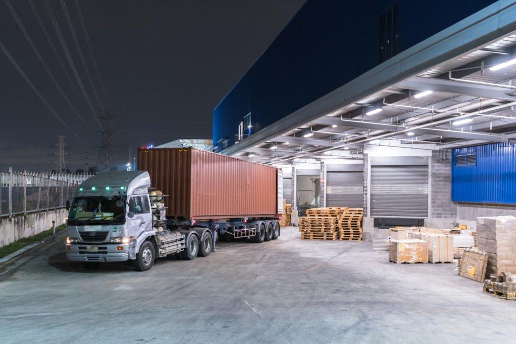 central de distribuição logistica
