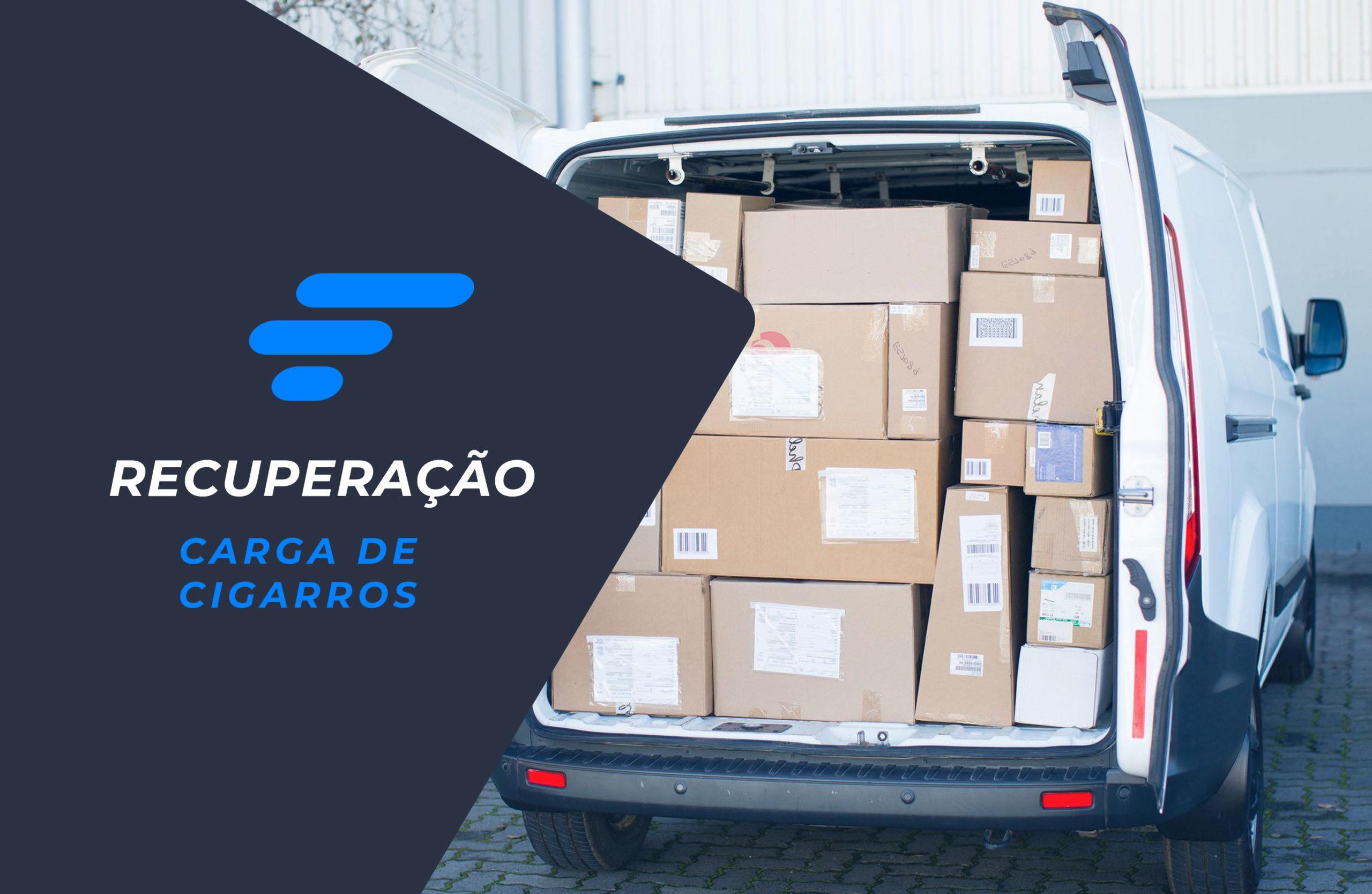 Recuperação de carga de cigarros em Caxias do Sul