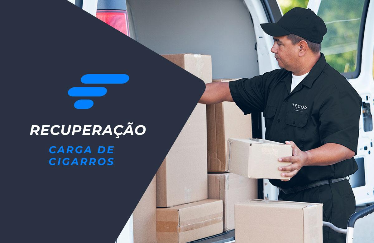 Skymark Gerenciadora da Riscos recupera carga de cigarrros em Curitiba – PR
