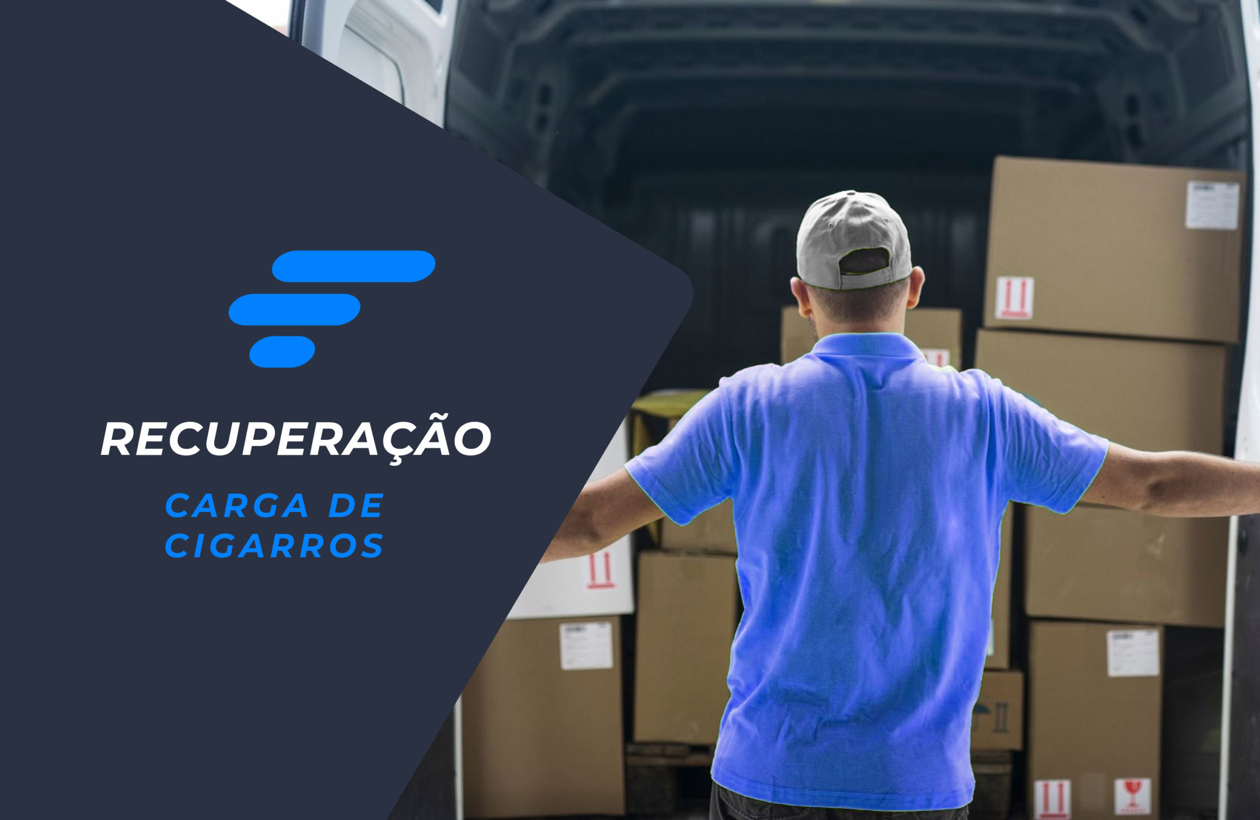 Central de Monitoramento Skymark apoia recuperação de carga de cigarros em Porto Alegre – RS